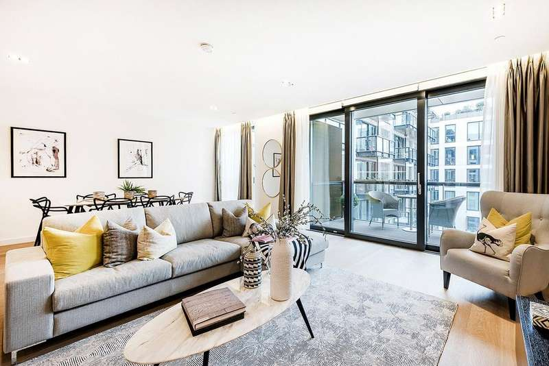 3 Bedrooms Flat for sale in Plimsoll Building, Kings Cross, London