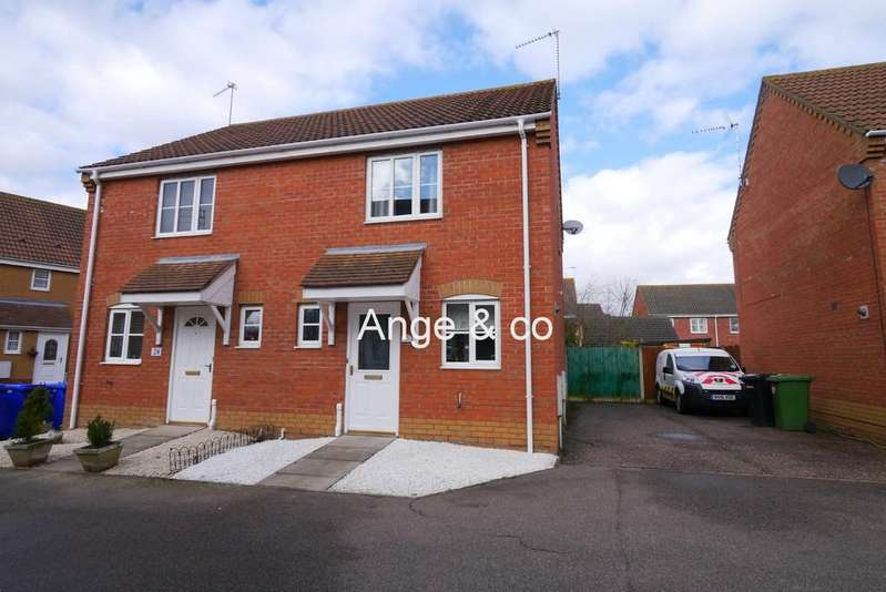 2 Bedrooms Semi Detached House for sale in Johnson Way, Parkhill, Lowestoft