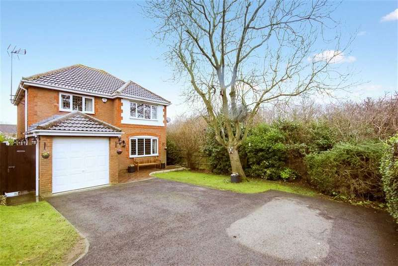 4 Bedrooms Detached House for sale in Viking Close, Bridlewood, Swinidon