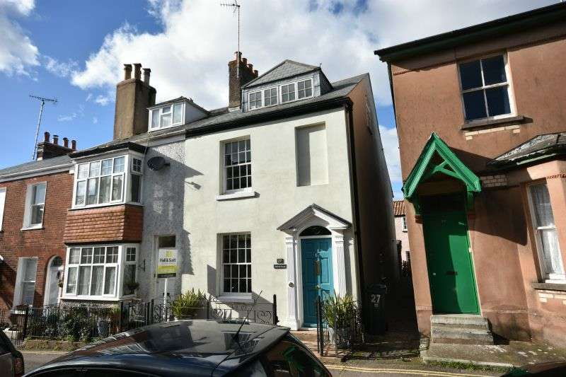 4 Bedrooms End Of Terrace House for sale in BICTON STREET, EXMOUTH