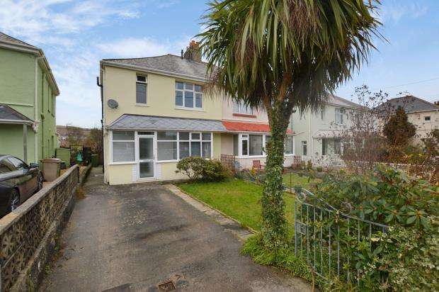 3 Bedrooms Semi Detached House for sale in Lucas Lane, Plymouth, Devon