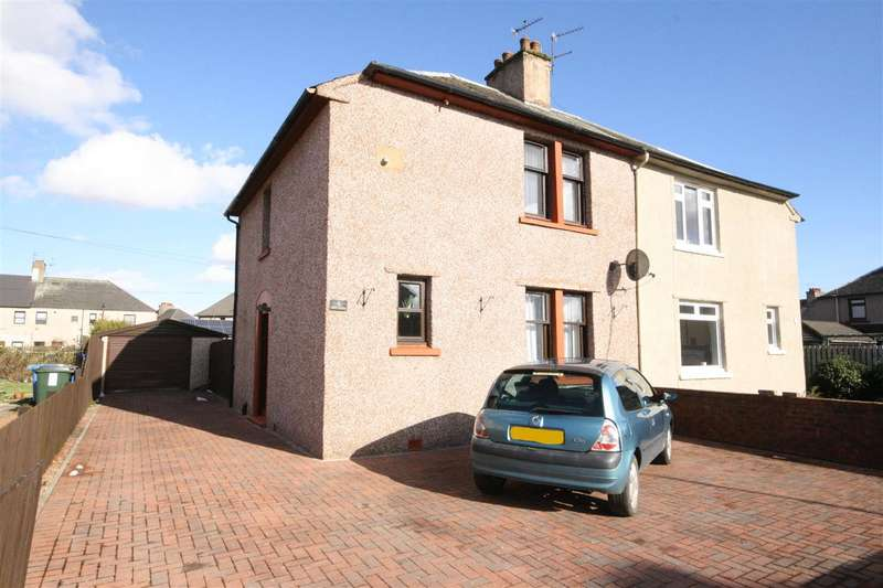 3 Bedrooms Semi Detached House for sale in Dollar Gardens, Falkirk