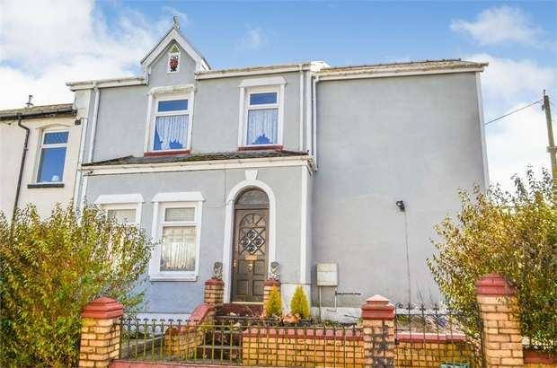 3 Bedrooms End Of Terrace House for sale in Tredegar Road, Ebbw Vale, Blaenau Gwent