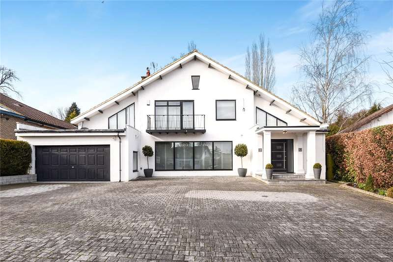 4 Bedrooms Detached House for sale in Spring Lake, Stanmore, HA7