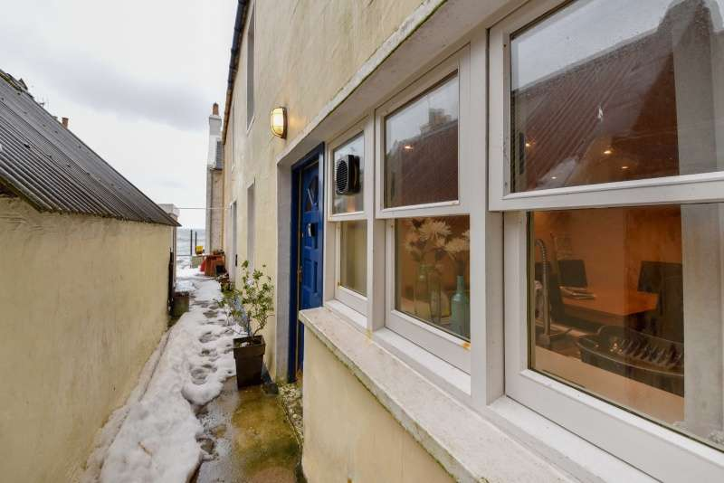 2 Bedrooms Semi Detached House for sale in Shore Street, Pennan, Fraserburgh, Aberdeenshire, AB43 6JB