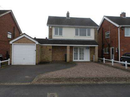 3 Bedrooms Detached House for sale in Hall Lane, Whitwick, Coalville
