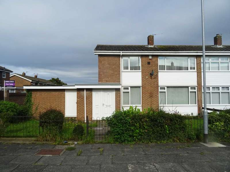 4 Bedrooms Semi Detached House for sale in Bellasis Grove, Hartlepool