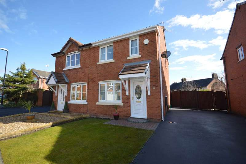 2 Bedrooms Semi Detached House for sale in Coleridge Drive, New Ferry