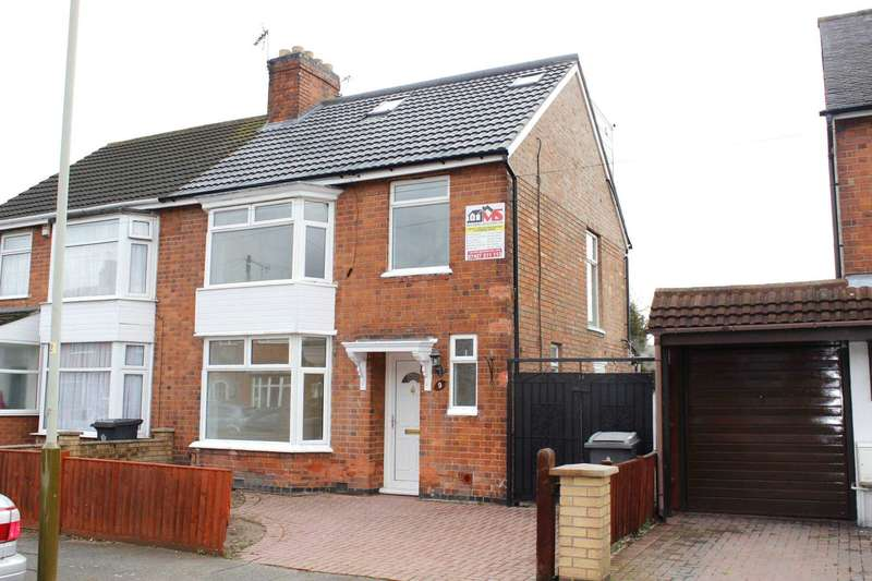 5 Bedrooms Semi Detached House for sale in Strathmore Avenue, Leicester