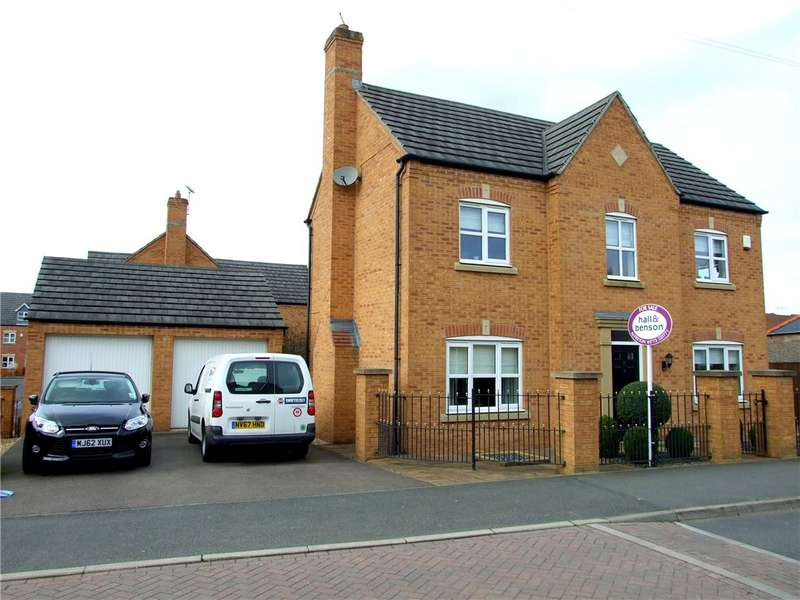 4 Bedrooms Detached House for sale in Lindley's Lane, Kirkby-in-ashfield, Nottingham, Nottinghamshire, NG17