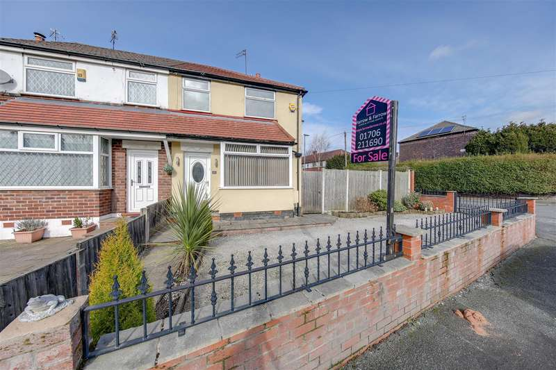 2 Bedrooms End Of Terrace House for sale in Melverley Road, Blackley, Manchester