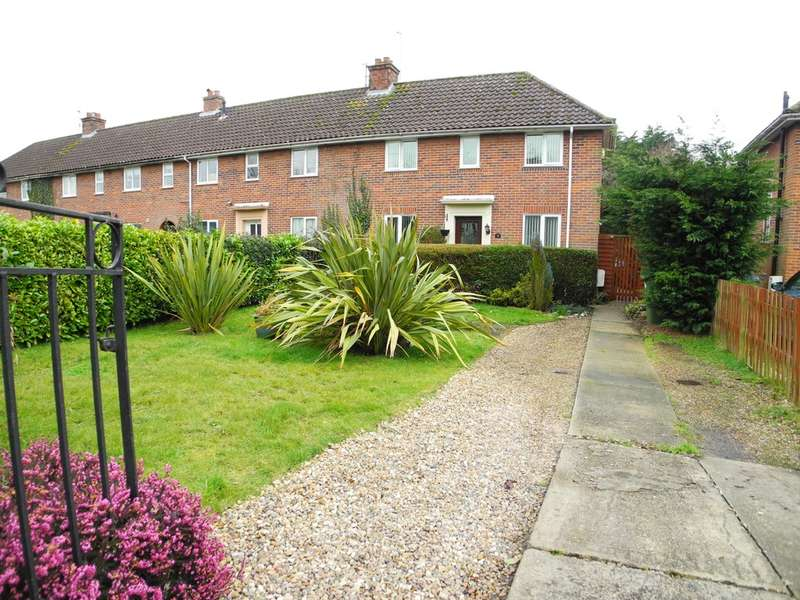 3 Bedrooms Semi Detached House for sale in Flixton Road, Bungay