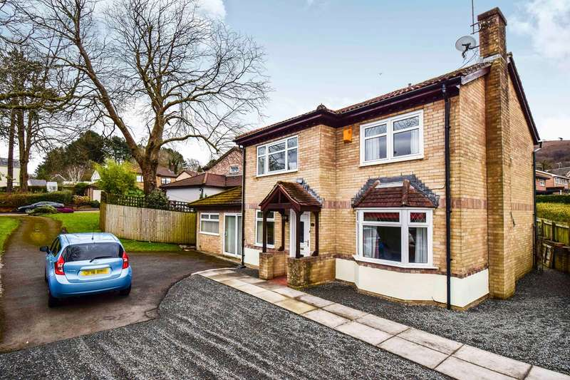 4 Bedrooms Detached House for sale in Redbrook Court, Caerphilly, CF83