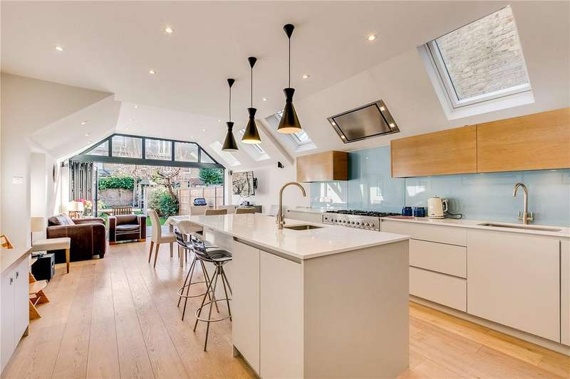 5 Bedrooms Terraced House for sale in Petley Road, London, W6
