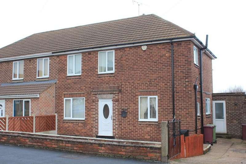 3 Bedrooms Semi Detached House for sale in 9, Tennyson Road, Creswell