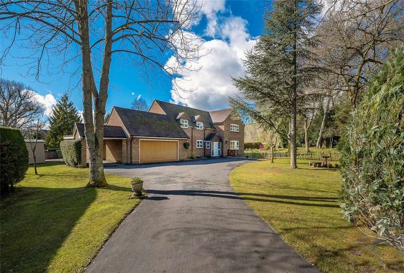 5 Bedrooms Detached House for sale in Compton Down, Hampshire, SO21