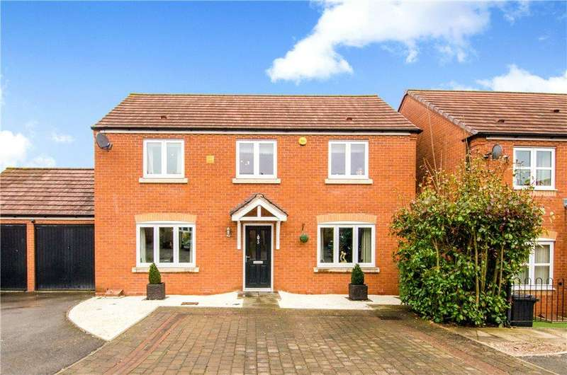 4 Bedrooms Detached House for sale in Carp Close, Worcester, Worcestershire, WR5