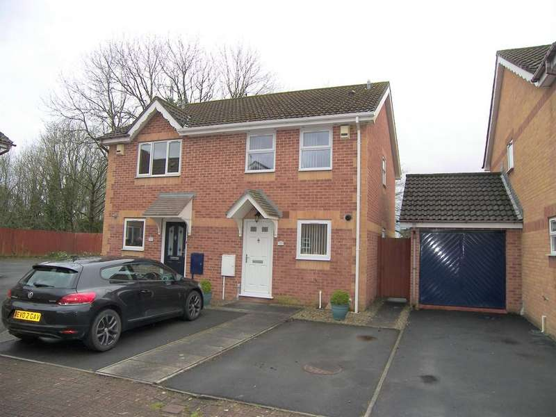 2 Bedrooms Semi Detached House for sale in Drumfields, Cadoxton, Neath