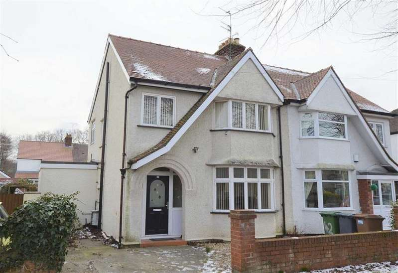 3 Bedrooms Semi Detached House for sale in Warwick Road, CH49