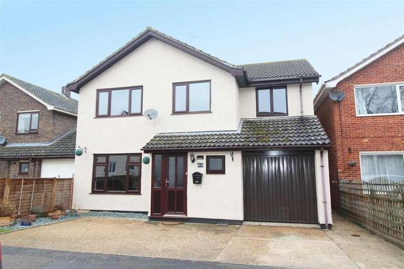 4 Bedrooms Detached House for sale in Hepworth Road, Stanton
