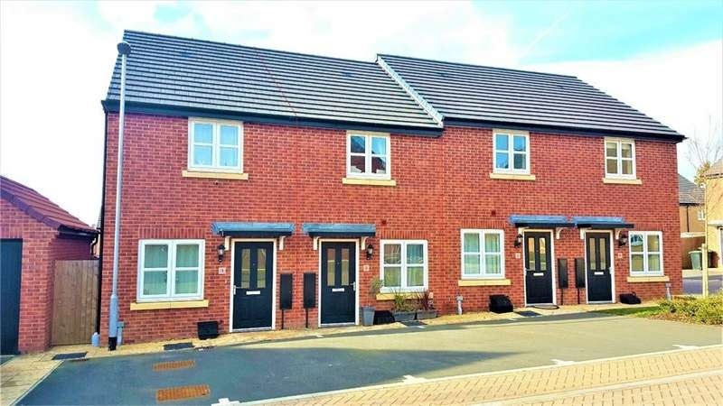 2 Bedrooms Terraced House for sale in Damson Walk, Higham Ferrers, Northamptonshire