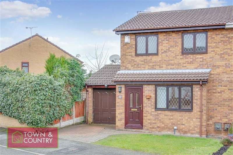 3 Bedrooms Semi Detached House for sale in Holly Grange, Connah's Quay, Deeside, Flintshire