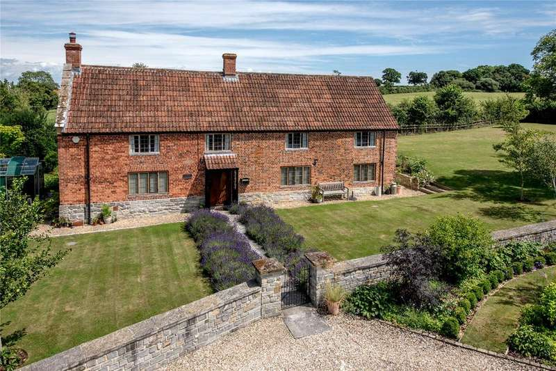4 Bedrooms Detached House for sale in Stewley, Ashill, Ilminster, Somerset