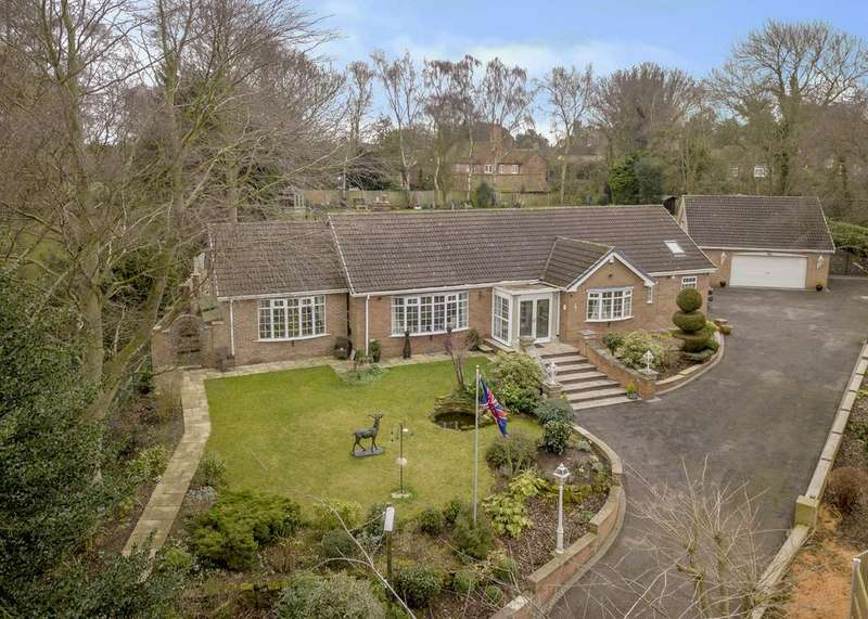 4 Bedrooms Detached Bungalow for sale in Tranby, Rectory Lane, Gamston
