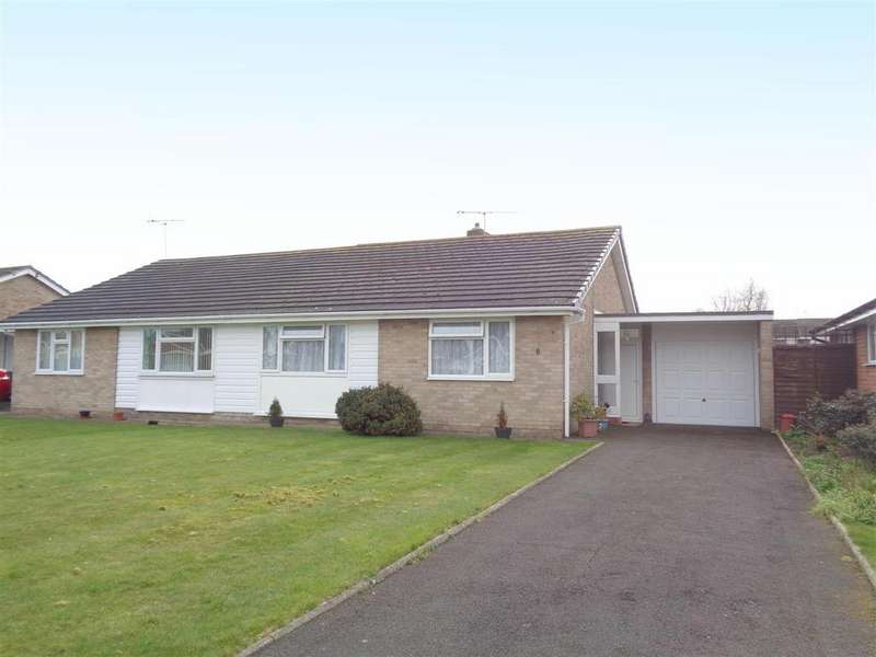 2 Bedrooms Semi Detached Bungalow for sale in Walberton Close, Felpham