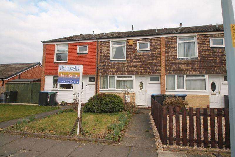 3 Bedrooms Terraced House for sale in Hackness Walk, Acklam