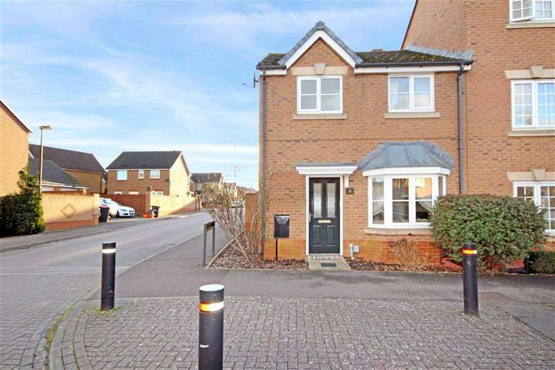 3 Bedrooms End Of Terrace House for sale in The Boulevard, Taw Hill, Wiltshire