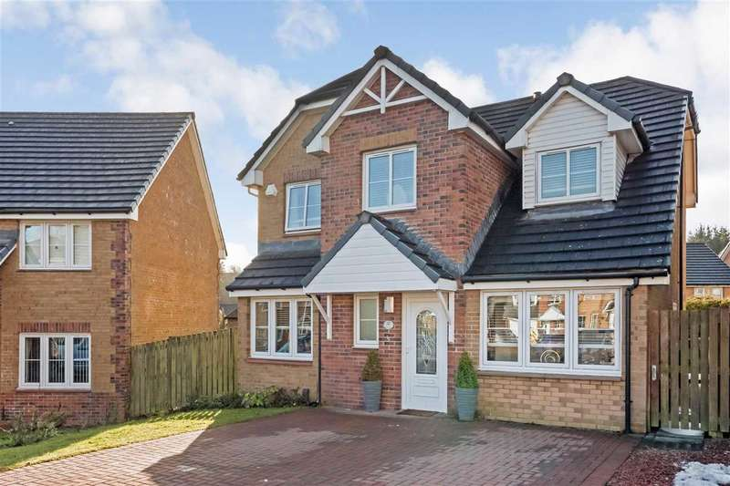 4 Bedrooms Detached House for sale in Walnut Grove, Laburnum, EAST KILBRIDE