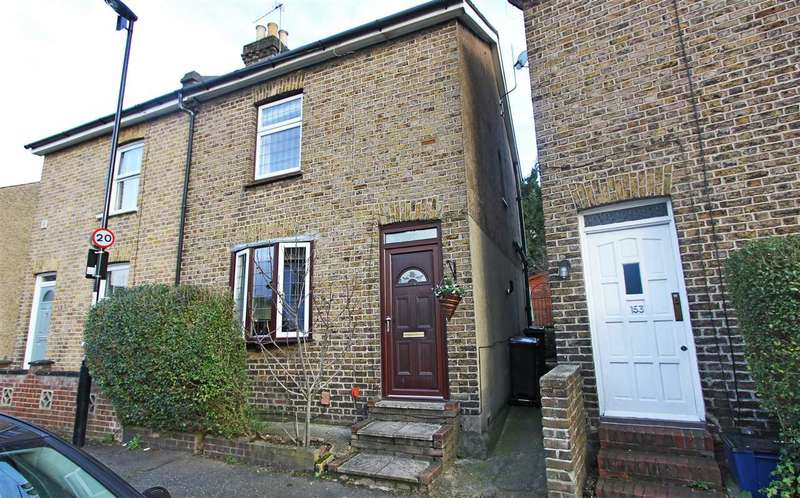 2 Bedrooms Semi Detached House for sale in Bynes Road, South Croydon