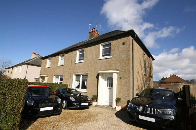 3 Bedrooms Semi Detached House for sale in George Street, Larbert