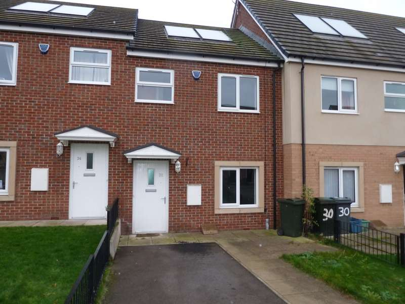 2 Bedrooms Terraced House for sale in Lambrell Green, Kiveton Park S26