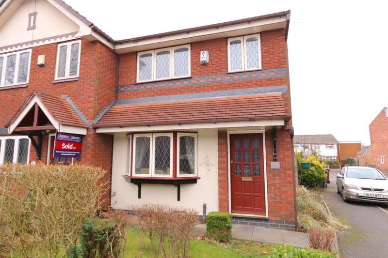 3 Bedrooms Semi Detached House for sale in Greendale Grove, Denton, Manchester, M34