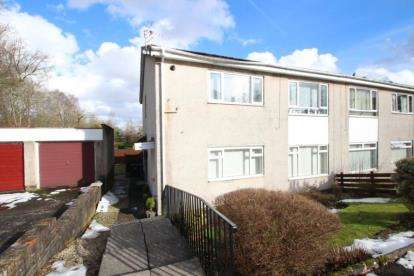 2 Bedrooms Flat for sale in Glazert Place, Milton of Campsie, Glasgow, East Dunbartonshire