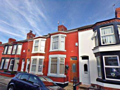 3 Bedrooms Terraced House for sale in Grasville Road, Tranmere, Wirral, CH42