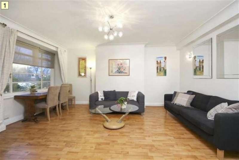 2 Bedrooms Flat for sale in Hillfield Court, Belsize Park, London