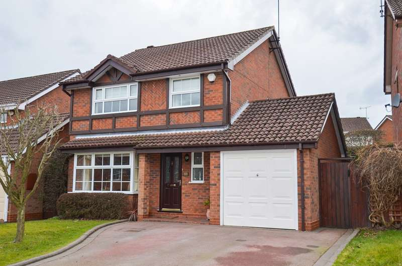 4 Bedrooms Detached House for sale in Fairways Drive, Blackwell, Bromsgrove, B60