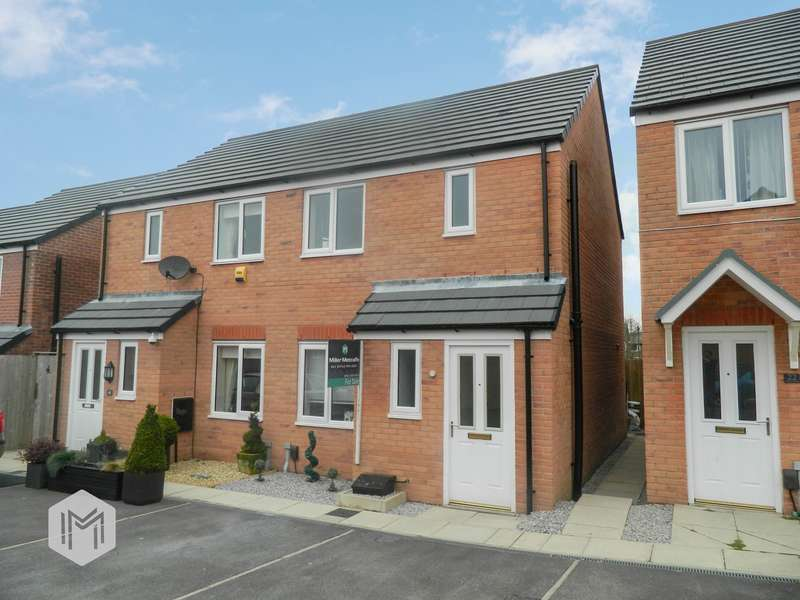 2 Bedrooms Semi Detached House for sale in Kinross Avenue, Heywood, OL10
