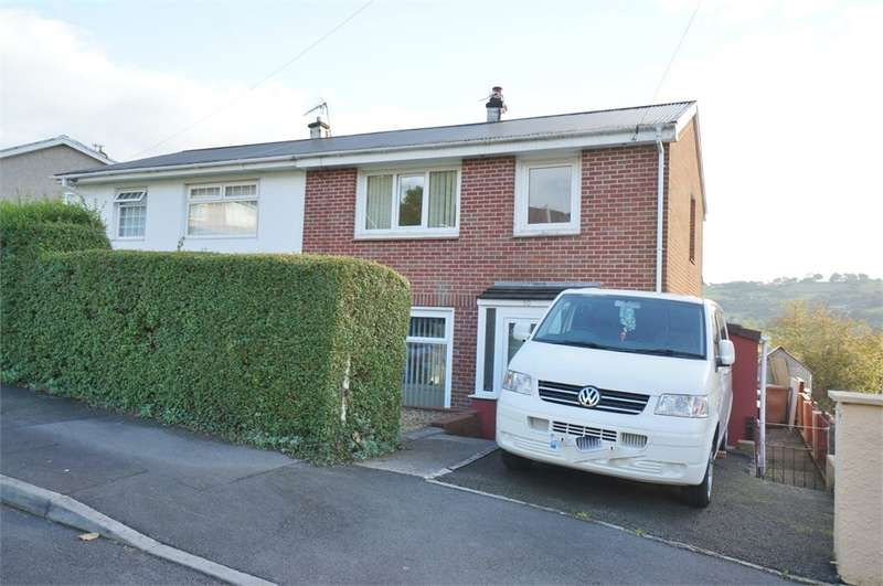 3 Bedrooms Semi Detached House for sale in Woodview Road, Risca, Newport, NP11
