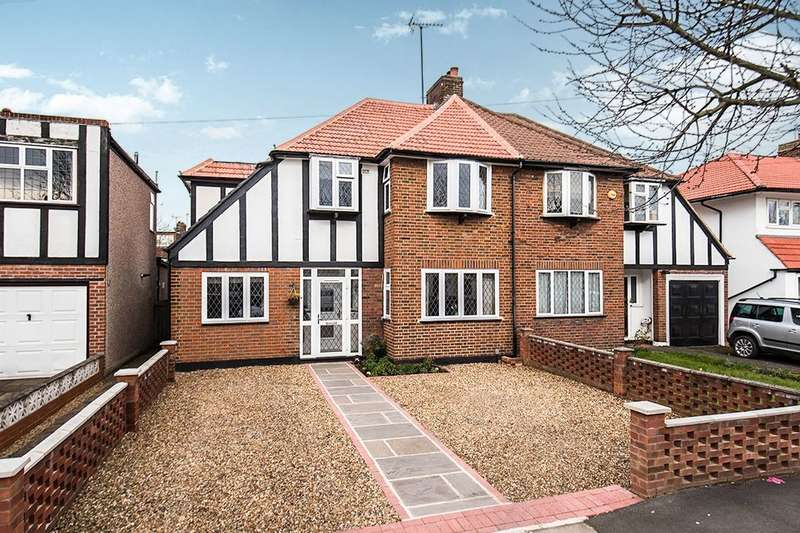 4 Bedrooms Semi Detached House for sale in Bridge Way, Whitton, Twickenham, TW2