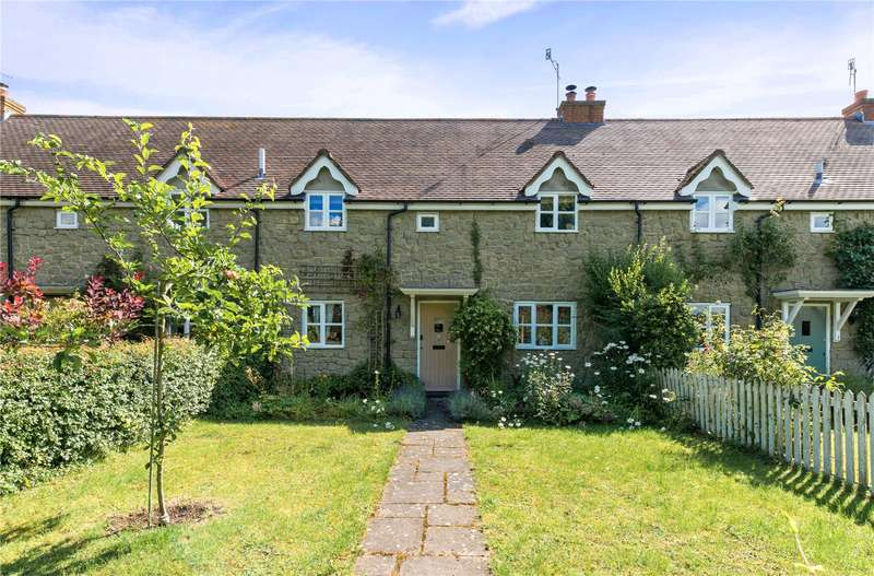 3 Bedrooms Terraced House for sale in Church Farm Cottages, Factory Lane, Barford St. Martin, Salisbury, SP3