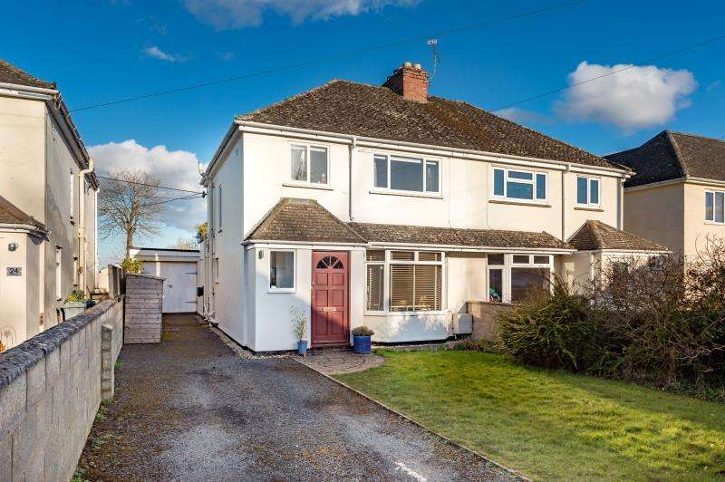 3 Bedrooms Semi Detached House for sale in Hill Rise, Woodstock, Oxfordshire