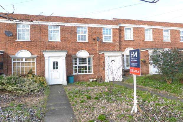 2 Bedrooms Town House for sale in Wolsey Way, Syston, Leicester, LE7
