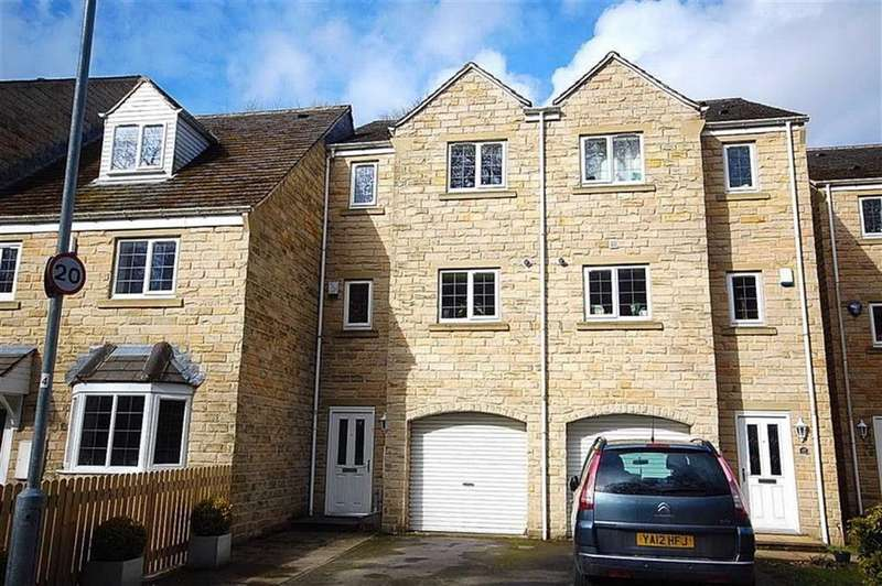 4 Bedrooms Town House for sale in Mill Stream Drive, Luddendenfoot, Halifax, HX2
