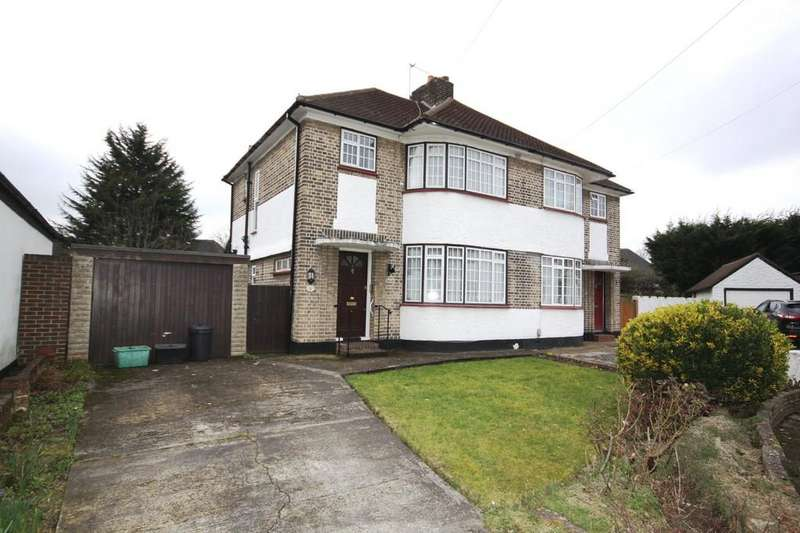 3 Bedrooms Semi Detached House for sale in Ash Close, Petts Wood