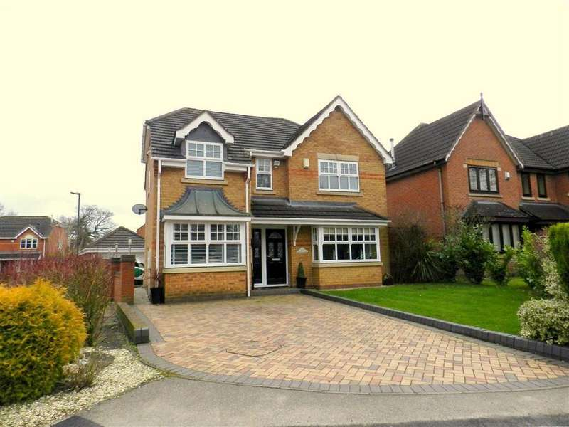 4 Bedrooms Detached House for sale in Werneth Grove, Bloxwich, Walsall