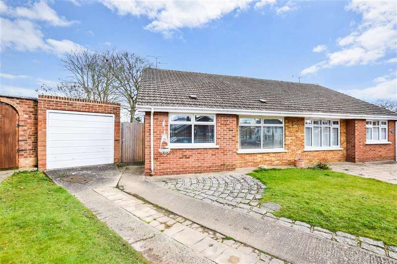 2 Bedrooms Semi Detached Bungalow for sale in Fairview Gardens, Sturry, Canterbury, Kent